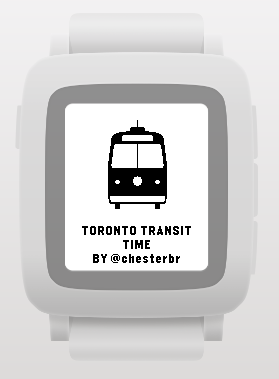 Toronto Transit Time splash screen