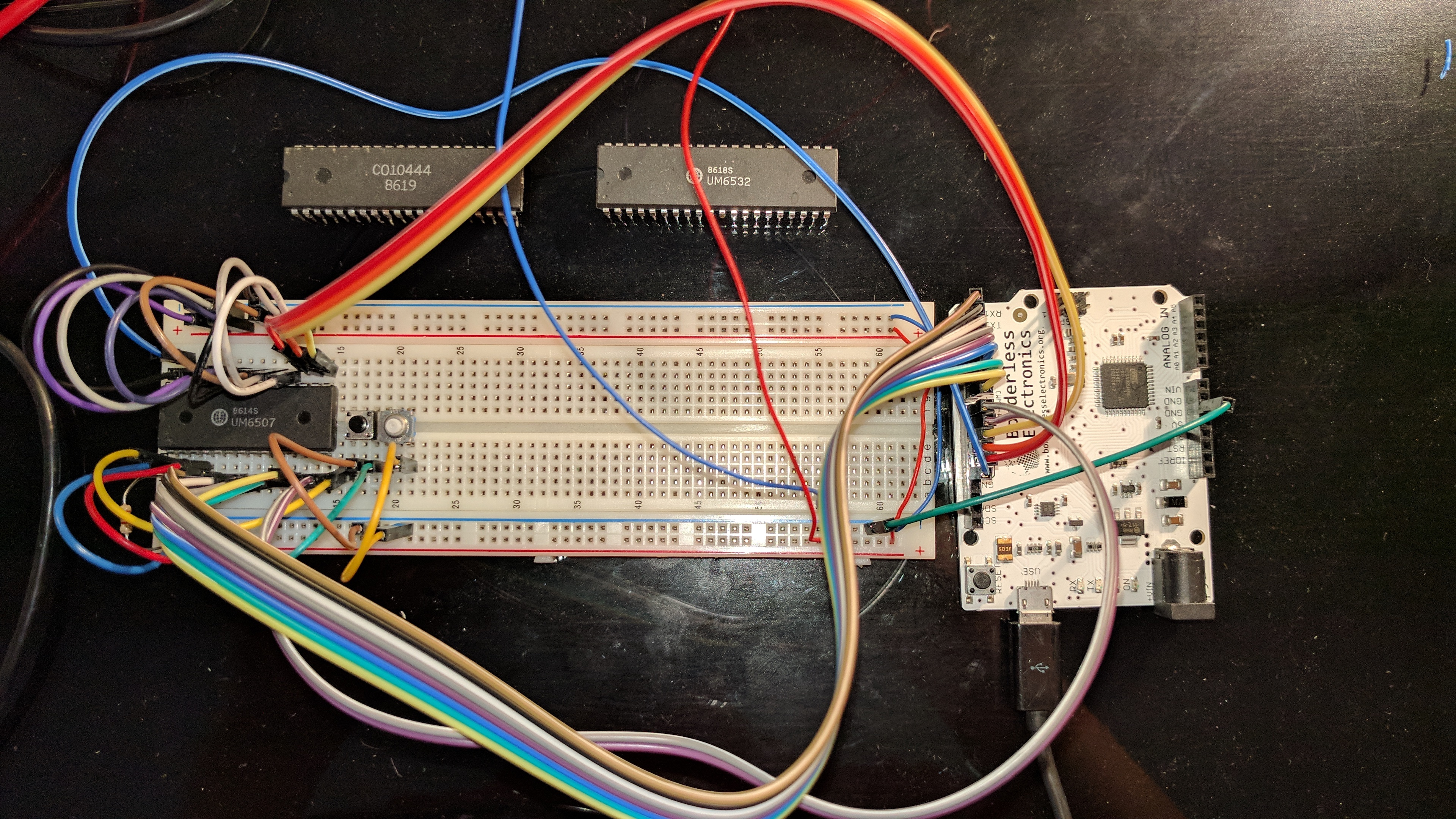 atari 2600 cpu running on a breadboard chester\u0027s bloghere is the first version of the finished job it isn\u0027t super easy to follow (even in
