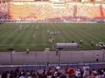 comemoração de um gol do Grêmio