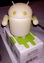 Bonequinho do Android que eu ganhei
