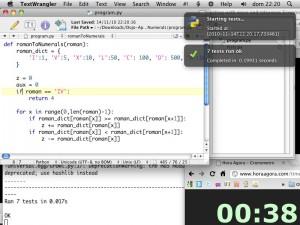 Uma reprodução do jeitão da tela durante o Dojo no Apontador (clique para ampliar)