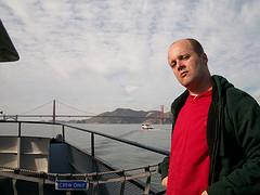 Chester nos arredores da Golden Gate