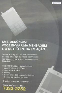 SMS-Denúncia