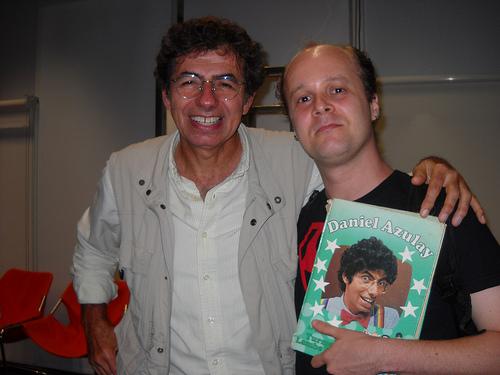Eu e o Daniel Azulay! \o/