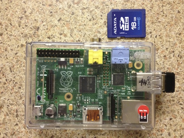 Here is my Pi, close to an SD card (to get an idea of its size). Yes, it's a full-fledged computer.